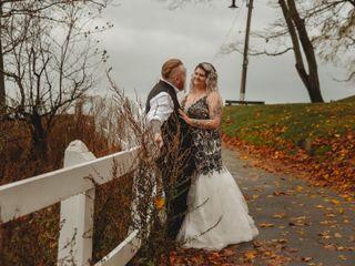 The wedding of Leesa and Joe