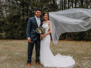 The wedding of Aaron and Erika