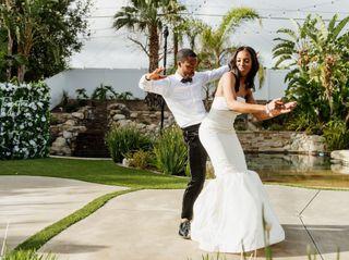 The wedding of Mychal and Jazmyn