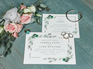 The wedding of Andrea and Luke 2