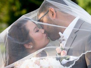 The wedding of Sharmayne and Chet