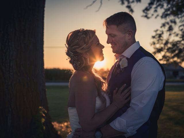The wedding of Nick and Gina