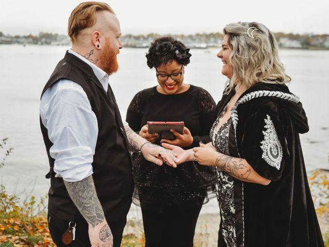 Joe and Leesa's Wedding in Salem, Massachusetts 6