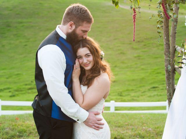 The wedding of Lauren and Travis