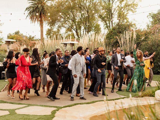 Jazmyn and Mychal's Wedding in Porter Ranch, California 2