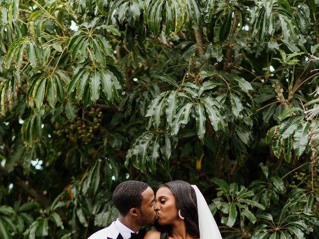 Jazmyn and Mychal's Wedding in Porter Ranch, California 3