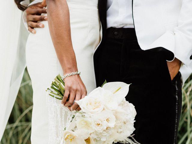 Jazmyn and Mychal's Wedding in Porter Ranch, California 5