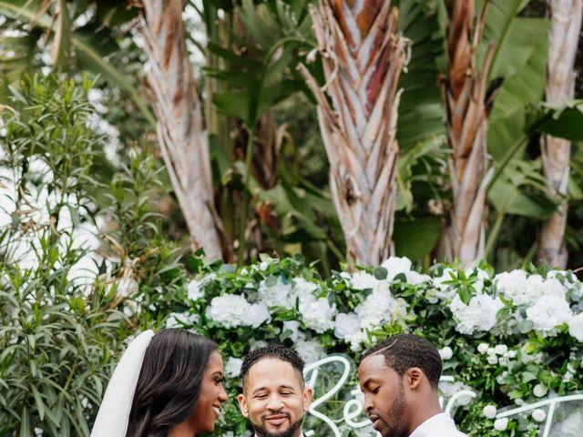 Jazmyn and Mychal's Wedding in Porter Ranch, California 6