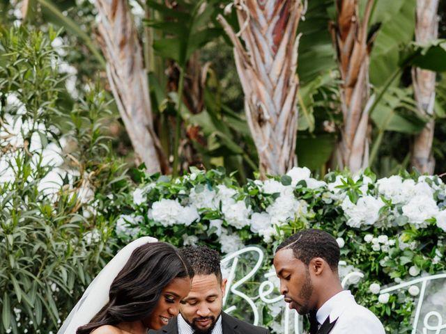 Jazmyn and Mychal's Wedding in Porter Ranch, California 7