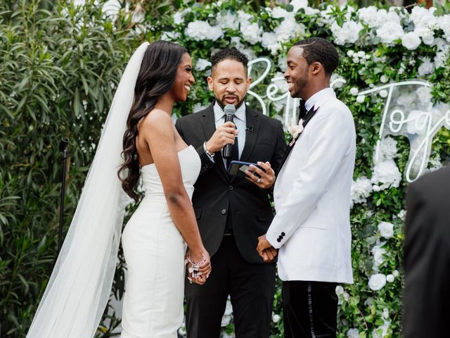 Jazmyn and Mychal's Wedding in Porter Ranch, California 8