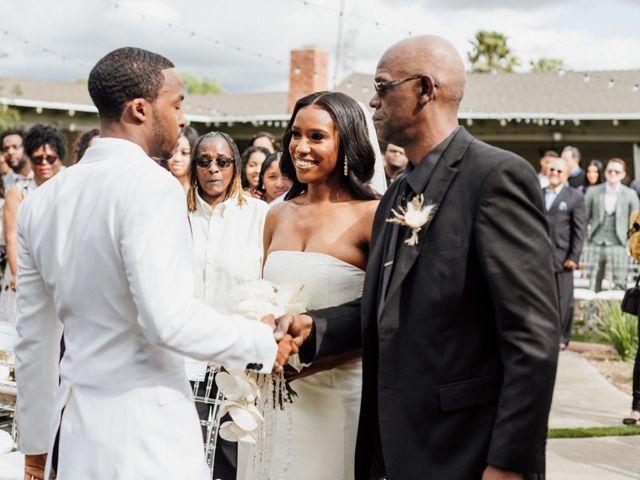 Jazmyn and Mychal's Wedding in Porter Ranch, California 10