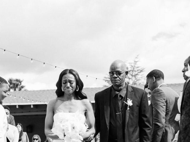 Jazmyn and Mychal's Wedding in Porter Ranch, California 11
