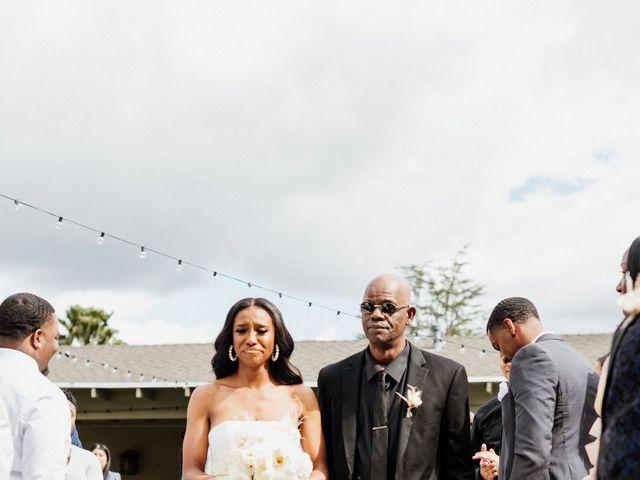 Jazmyn and Mychal's Wedding in Porter Ranch, California 12
