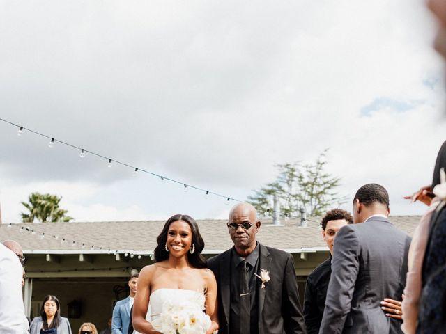 Jazmyn and Mychal's Wedding in Porter Ranch, California 13