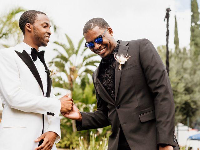 Jazmyn and Mychal's Wedding in Porter Ranch, California 14