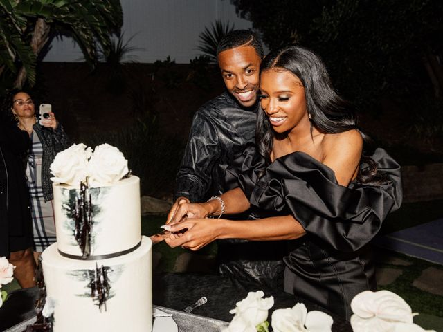 Jazmyn and Mychal's Wedding in Porter Ranch, California 40