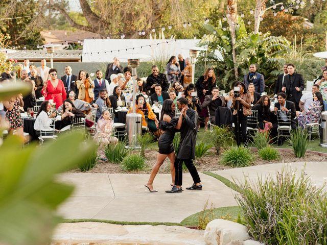 Jazmyn and Mychal's Wedding in Porter Ranch, California 43