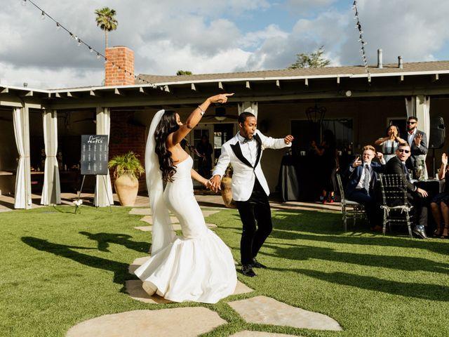 Jazmyn and Mychal's Wedding in Porter Ranch, California 46