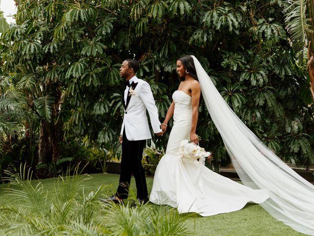 Jazmyn and Mychal's Wedding in Porter Ranch, California 48