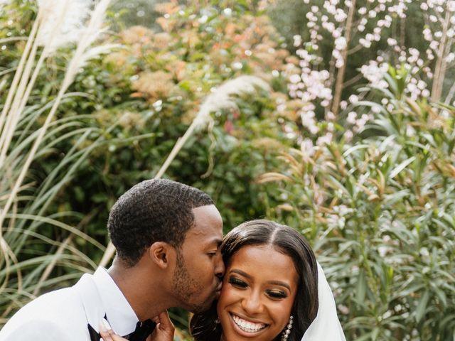 Jazmyn and Mychal's Wedding in Porter Ranch, California 49