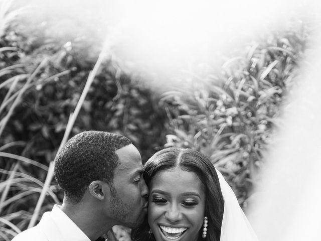 Jazmyn and Mychal's Wedding in Porter Ranch, California 50