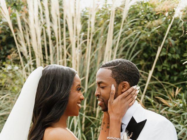 Jazmyn and Mychal's Wedding in Porter Ranch, California 53