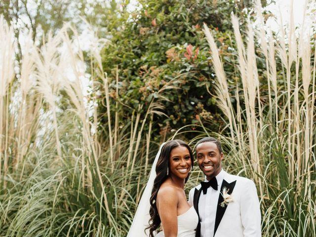 Jazmyn and Mychal's Wedding in Porter Ranch, California 58