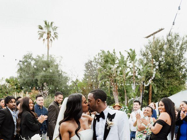 Jazmyn and Mychal's Wedding in Porter Ranch, California 59