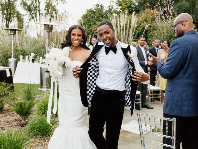 Jazmyn and Mychal's Wedding in Porter Ranch, California 60
