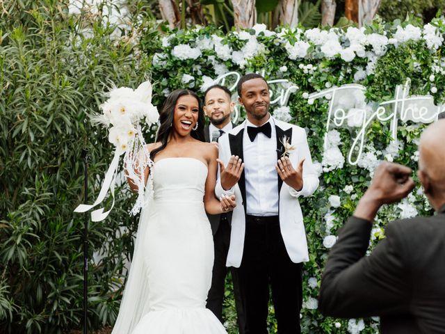 Jazmyn and Mychal's Wedding in Porter Ranch, California 61