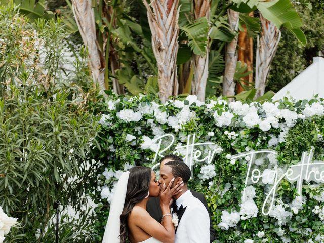 Jazmyn and Mychal's Wedding in Porter Ranch, California 62
