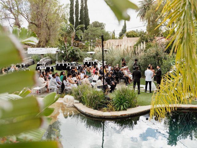 Jazmyn and Mychal's Wedding in Porter Ranch, California 63