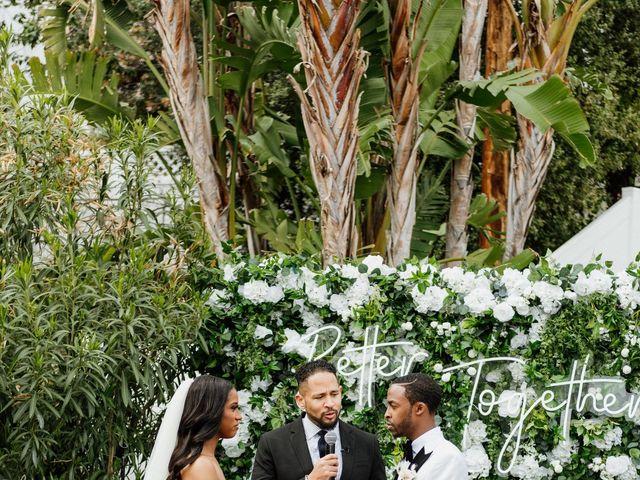 Jazmyn and Mychal's Wedding in Porter Ranch, California 64
