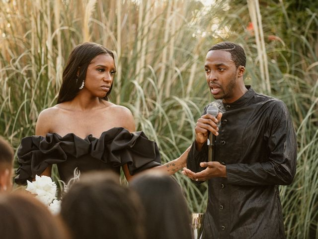 Jazmyn and Mychal's Wedding in Porter Ranch, California 81