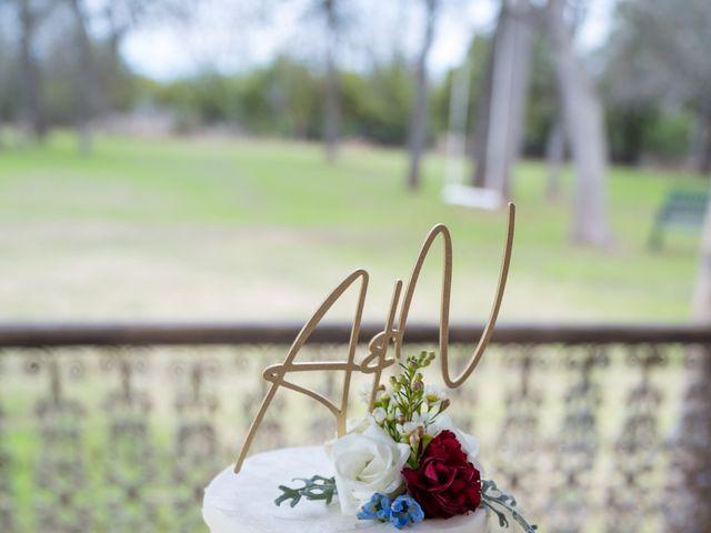 Aaron and Natalia's Wedding in Georgetown, Texas 12