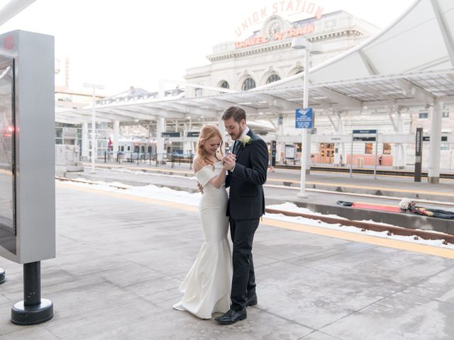 The wedding of Audrey and Alexander