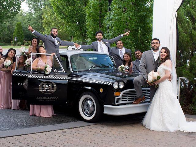 Chet and Sharmayne's Wedding in Greensboro, North Carolina 11