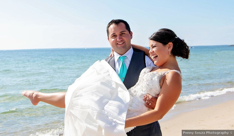 Stephen and Elysa's Wedding in Falmouth, Massachusetts