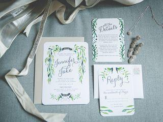 The wedding of Jake and Jennifer 1