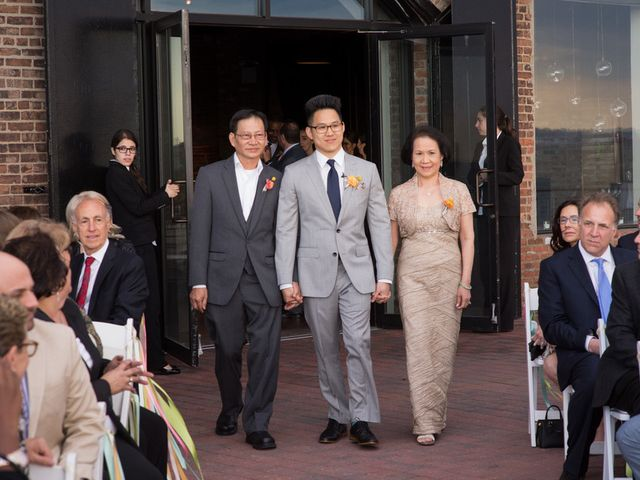 Carly and Quang's Wedding in Brooklyn, New York 9