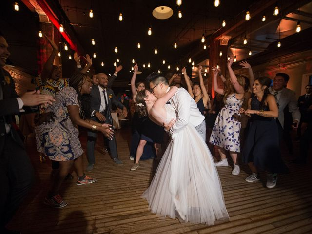 Carly and Quang's Wedding in Brooklyn, New York 23