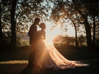 The wedding of Sydney and Ethan