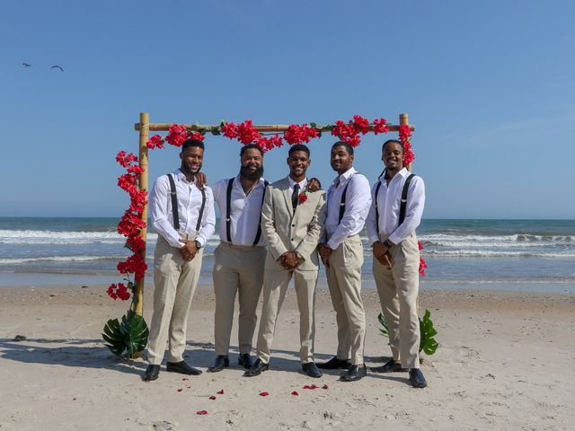 Jaylen Gentry and Chelsea Gentry's Wedding in Topsail Beach, North Carolina 6