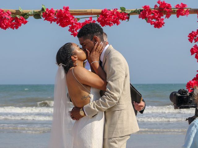Jaylen Gentry and Chelsea Gentry's Wedding in Topsail Beach, North Carolina 1