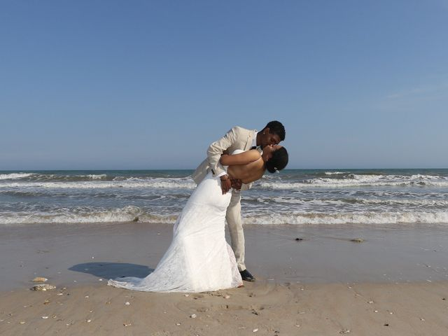 Jaylen Gentry and Chelsea Gentry's Wedding in Topsail Beach, North Carolina 14
