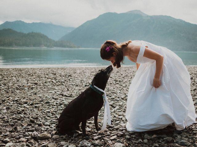 Kevin and Christina's Wedding in Homer, Alaska 5