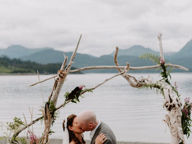 Kevin and Christina's Wedding in Homer, Alaska 9