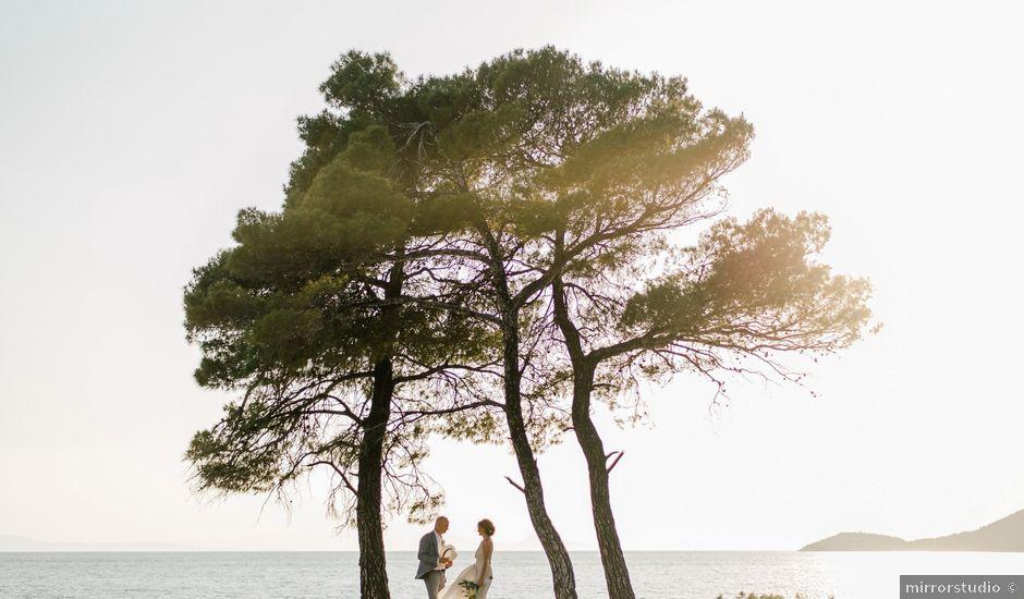 Dan and Dana's Wedding in Skiathos Town, Greece