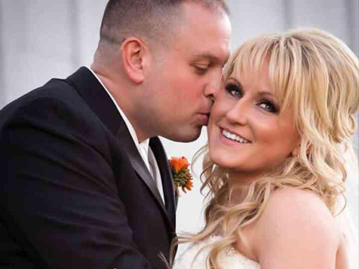 The wedding of Jon and Jackie