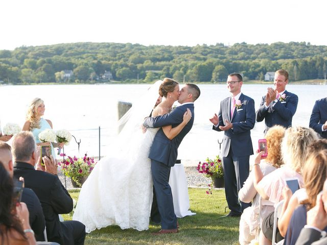 Gabrielle and Ian's Wedding in Mystic, Connecticut 15